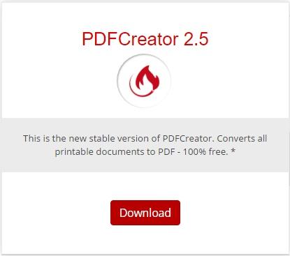 Descargar PDF Creator Gratis programas pagina de descarga