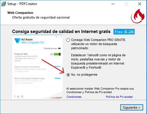 Descargar PDF Creator Gratis programas no proteger