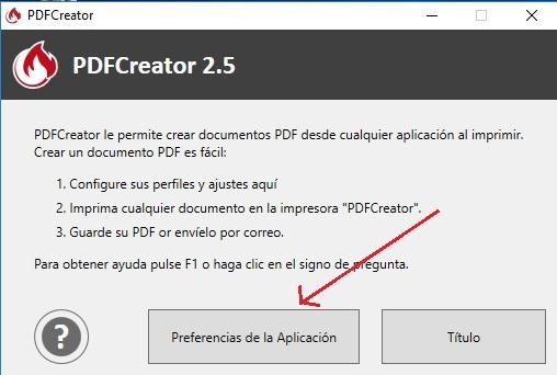 Descargar PDF Creator Gratis programas aplicacion
