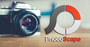 camara de fotos para editar con photoscape