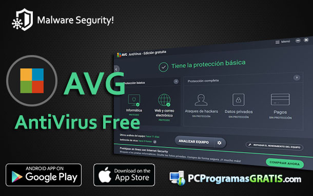 bajar antivirus avg gratis para android