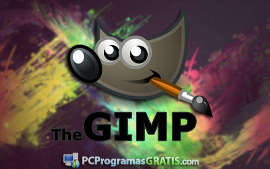descarga gimp gratis para diseñar editar fotos imagenes