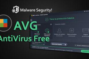 segunda portada inicio avg antivirus free