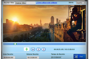 Free Video Cutter Joiner recorta o fusiona tus videos gratis